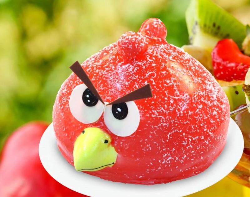 愤怒的小鸟蛋糕