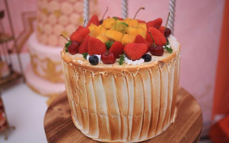 创意欧式水果蛋糕