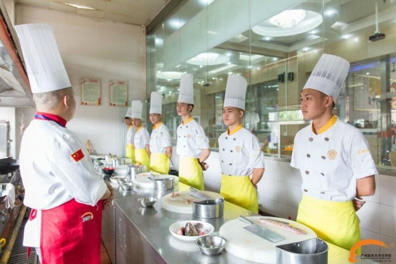 学厨师就业:2017在广州新东方学厨师怎么样?赚钱吗?