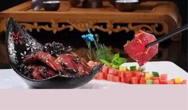 特色凉菜窖香牛肉