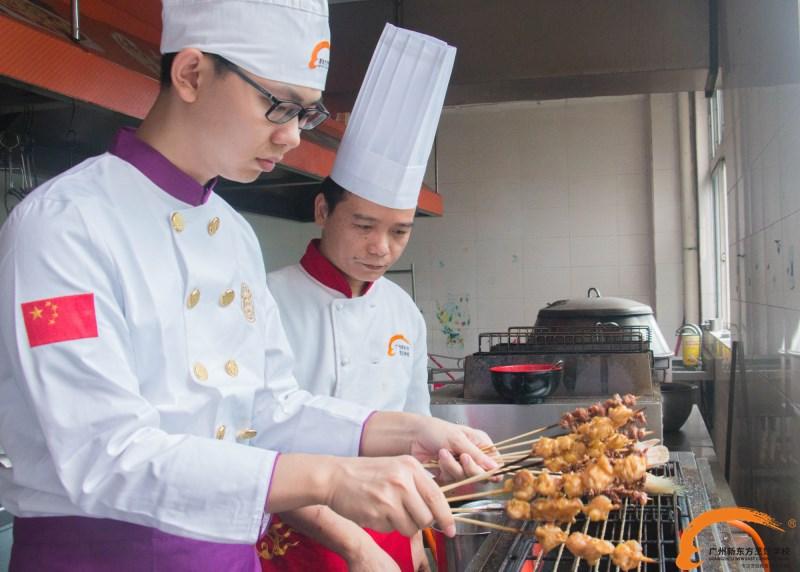 学厨师学费多少?2018在广州新东方学厨师学费怎么样?